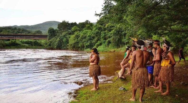 Servidores foram a aldeia afetada com Paraopeba (Foto: Lucas Hallel/ASCOM/FUNAI)